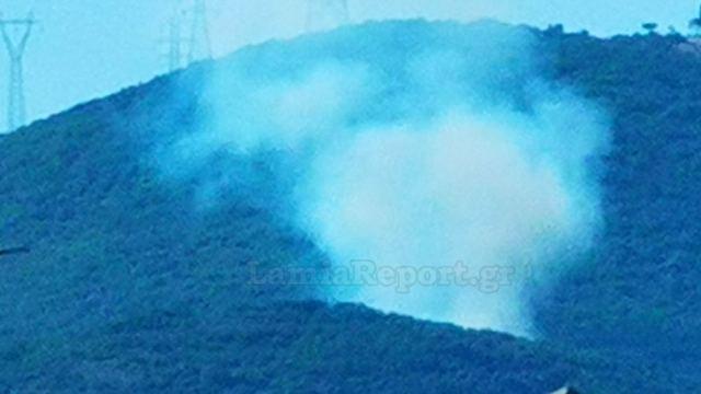Πυρκαγιά ΤΩΡΑ σε χαμηλή βλάστηση στην περιοχή Καμηλόβρυση Φθιώτιδας