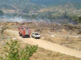 Πυρκαγιά σε παράνομη χωματερή στην Ξάνθη