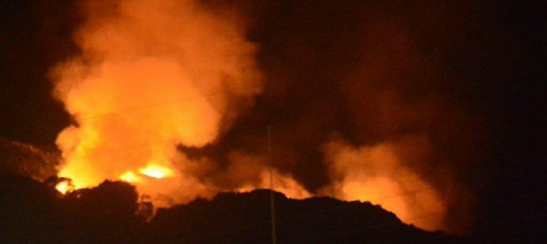 Πυρκαγιά ΤΩΡΑ στον Σκοπό Ζακύνθου.(φώτο από το συμβαν)