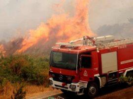 Πυρκαγιά εν υπαίθρω στην Ανθούσα Αττικής