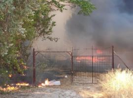 Πυρκαγιά ΤΩΡΑ εν υπαίθρω στην Σαλαμίνα Αττικής.Κοντά σε οικίες