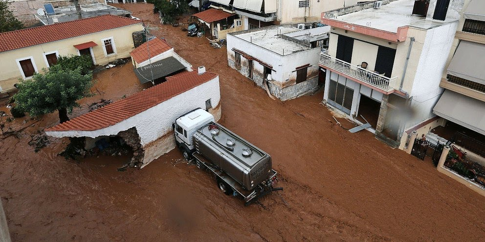 Πλημμύρες στη Μάνδρα: Αποζημίωση 270.000 ευρώ για τον χαμό 29χρονου