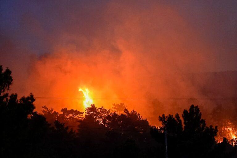 Σαμος-Έγιναν στάχτη 4.500 στρέμματα δασικής έκτασης.