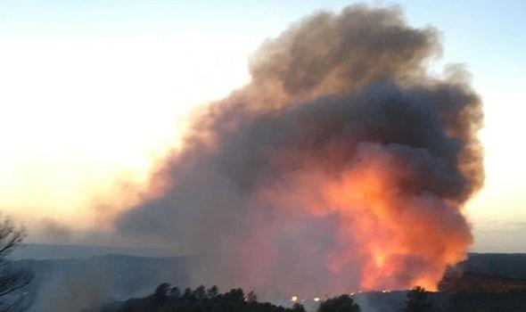 Πυρκαγιά στις ακτές της Καταλονίας - Στάχτη πάνω απο 4.000 στρέμματα φυσικού πάρκου