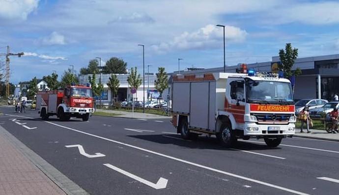 Γερμανοί πυροσβέστες στην Ελλάδα