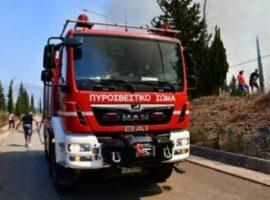 Πυροσβεστικό όχημα παρέσυρε και τραυμάτισε αστυνομικό στην Ηλεία