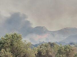 Πυρκαγιά στη Ρόδο: Μαίνεται για δεύτερη μέρα – Στόχος να ελεγχθούν οι αναζωπυρώσεις