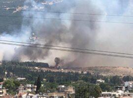 Πάτρα: Ένα τσιγάρο προκάλεσε την πυρκαγιά στην Ελεκίστρα