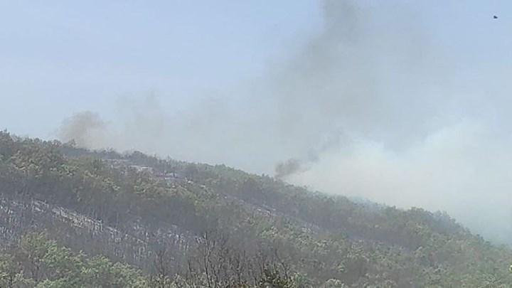 Πυρκαγιά στα Γρεβενά: Εκτός ελέγχου η φωτιά λόγω ενίσχυσης των ανέμων