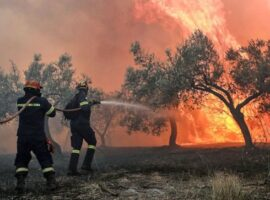 Δασικές πυρκαγιές: 58 το τελευταίο 24ωρο