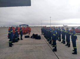 Ερχονται πυροσβεστικές δυνάμεις από Κύπρο για να συνδράμουν στις πυρκαγιές  (Φώτο)