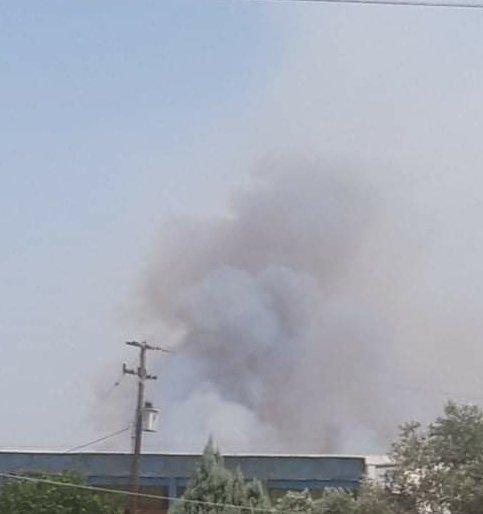 Πυρκαγιά σε χορτολιβαδική έκταση στο Κιλκίς (Φώτο)