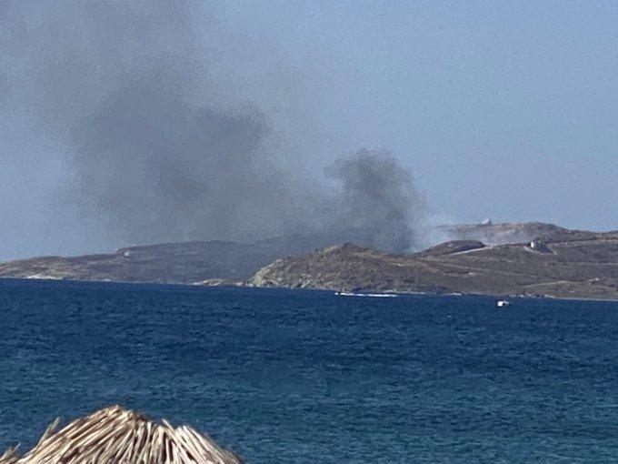 Πυρκαγιά ΤΩΡΑ στην Κάρυστο Εύβοιας (Φώτο)