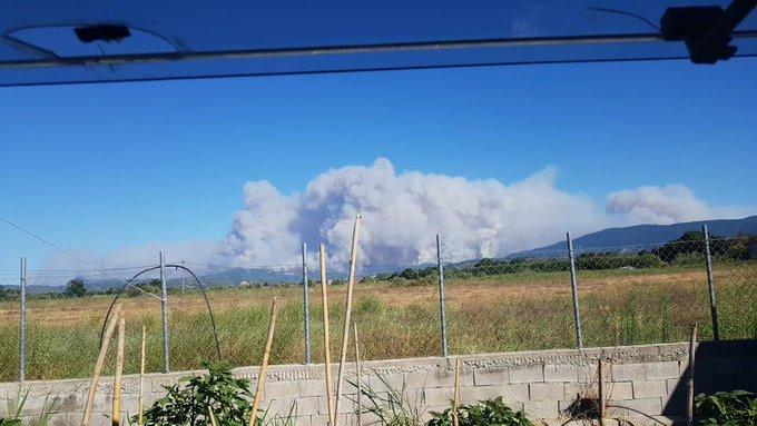 Πυρκαγιά στην Εύβοια: Οι φλόγες «καταπίνουν» τον Βουτά – Μπήκε στα Βασιλικά η πύρινη λαίλαπα