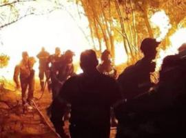 Συγκλονιστική φωτογραφία μέσα απο το μέτωπο της Αχαΐας