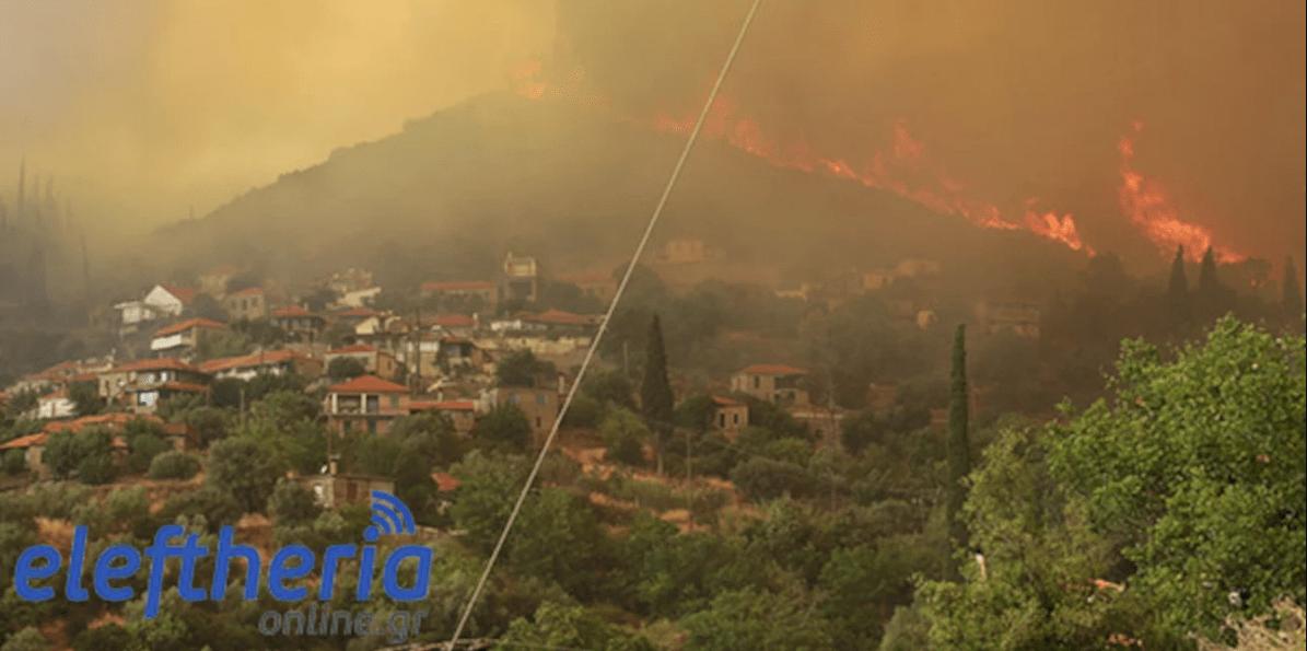 Πυρκαγιά στη Μεσσηνία: Πολύ δύσκολη η κατάσταση – Δύο νέες φωτιές