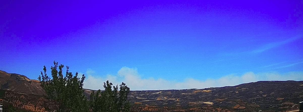 Πυρκαγιά σε χορτολιβαδική έκταση στον Άγιο Θωμά Ηρακλείου Κρήτης
