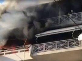Πυρκαγιά ΤΩΡΑ σε διαμέρισμα στα Πατήσια Αττικής