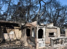 Πάτρα: Έμεινε ένα βράδυ στο νέο του σπίτι και την επομένη καταστράφηκε από τη πυρκαγιά