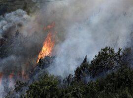 Πυρκαγιά στην Μάνη: Εκκενώνεται προληπτικά ο οικισμός Λιβάδια