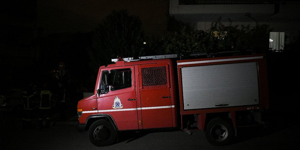 Πυρκαγιά στο Κρυονέρι: Έπεσε σε πηγάδι εποχικός πυροσβέστης