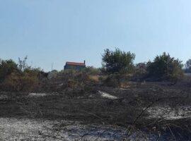 Σουφλί: Περίπου 1.500 στρέμματα καμένα από την πυρκαγιά