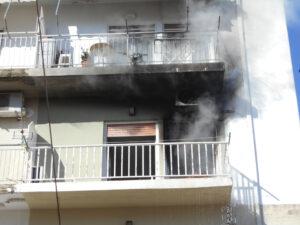 Πυρκαγιά σε διαμέρισμα στο Γαλάτσι Αττικής
