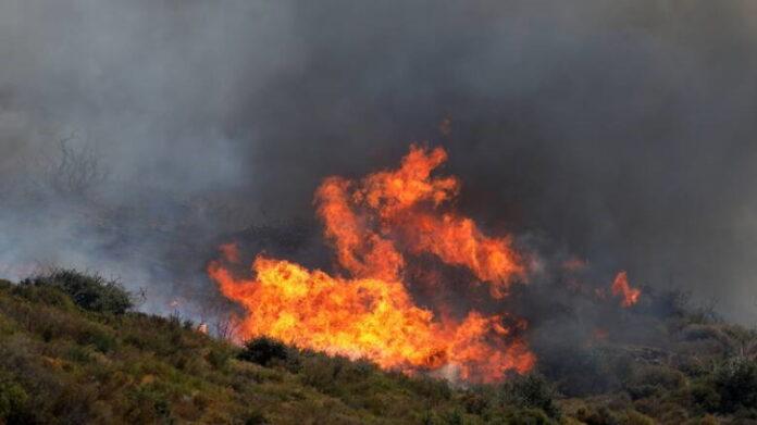 Πυρκαγιά στο Κιλκίς: Μαίνεται για δεύτερη μέρα σε πευκοδάσος στο Πάικο