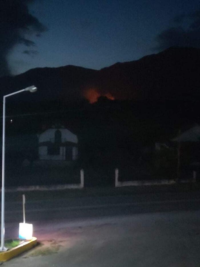 Σε εξέλιξη δασική πυρκαγιά πλησίον της περιοχής Καστανούσσας Σερρών (Φωτο)