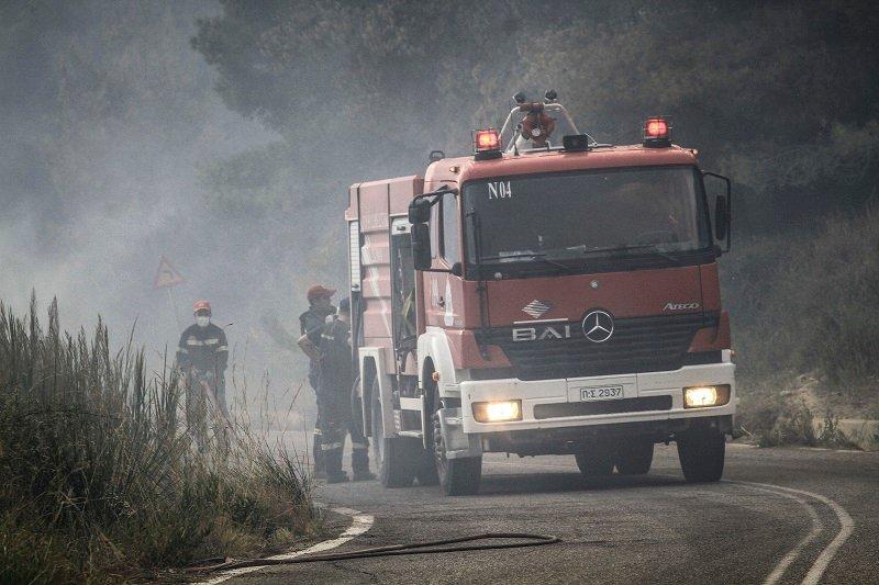 Αχαΐα: Πυρκαγιά σε χορτολιβαδική έκταση στη Χαραυγή
