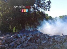 Πυρκαγιά εν υπαίθρω στο Ζερβοχώρι Θεσπρωτίας