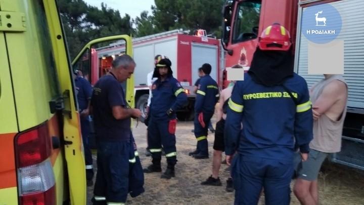 Νεαρός βρετανός τουρίστας έπεσε σε ρεματιά στη Ρόδο - Κινητοποιήθηκαν Πυροσβεστική και ΕΚΑΒ