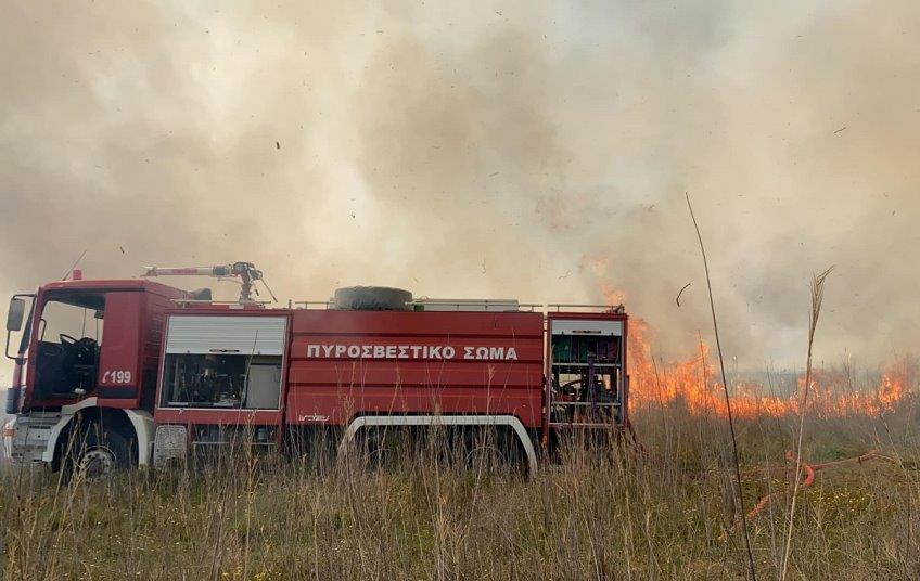 Κινητοποίηση της Πυροσβεστικής για πυρκαγιά στο Ρίβιο Ξηρομέρου