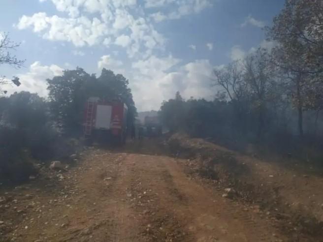 Πυρκαγιά ανάμεσα Σοχό και Ασκό του Δήμου Λαγκαδά