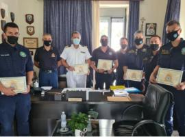 Η Πυροσβεστική Υπηρεσία δεν ξέχασε την μεγάλη δραστηριότητα του Κεντρικού Λιμεναρχείου Χαλκίδας στη Β. Εύβοια