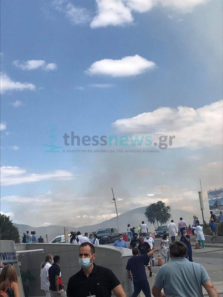 Πυρκαγιά σε Ι.Χ.Ε.στην ανατολική Θεσσαλονίκη – Στο Σημείο η Πυροσβεστική (ΦΩΤΟ+VIDEO)