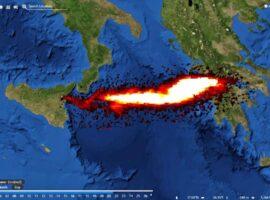 Σάκης Αρναούτογλου για Αίτνα: Οι εκπομπές διοξειδίου του θείου έφτασαν στην Ελλάδα