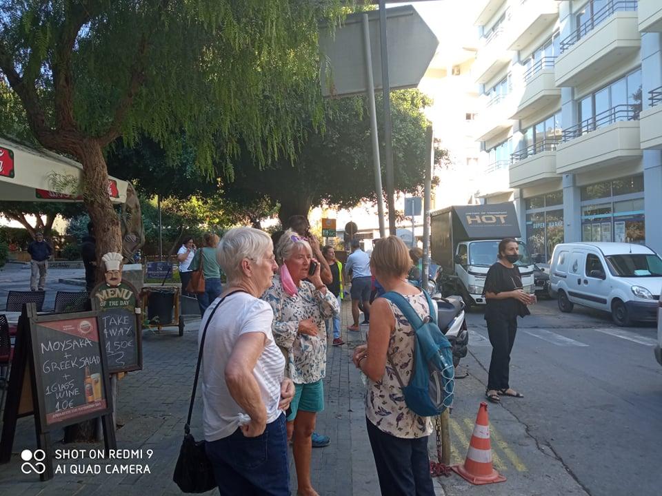 Σεισμός στην Κρήτη: Ζημιές στο Αρκαλοχώρι (Φωτο)