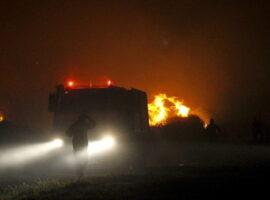 Πυρκαγιά σε χορτολιβαδική έκταση στο Πετρέ Ρεθύμνου
