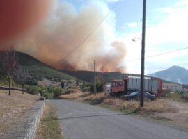Οριοθετημένη η πυρκαγιά στα Καλύβια Μεγαλόπολης