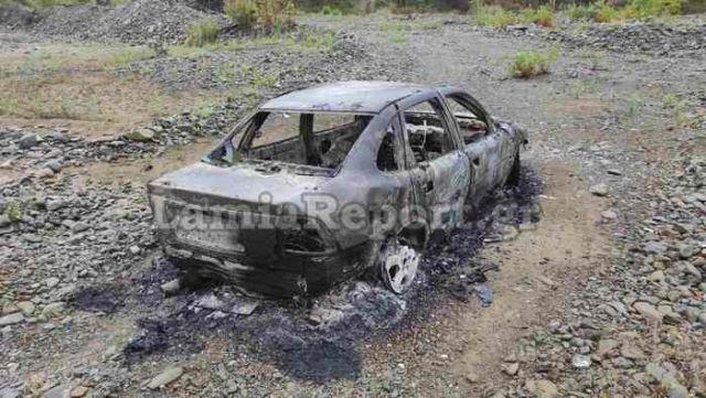 Απανθρακωμένος νεαρός άνδρας σε αυτοκίνητο στη Φθιώτιδα