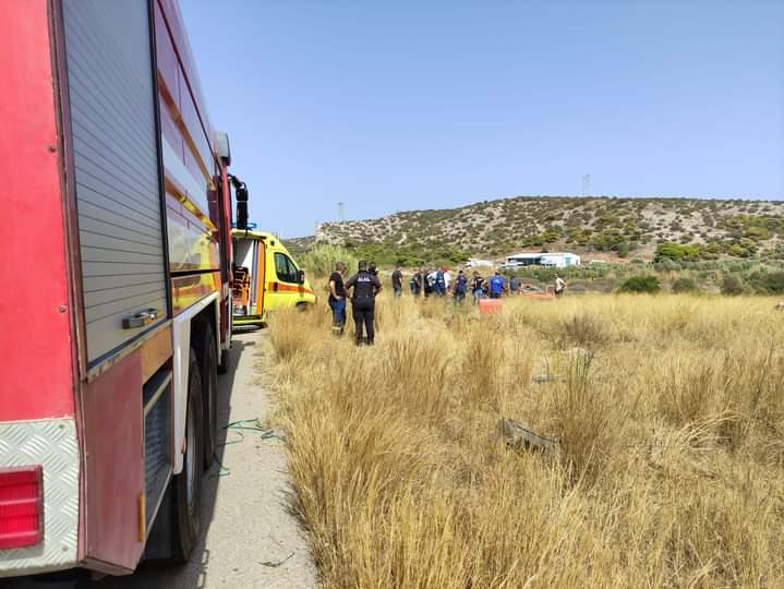 Πυροσβεστικό όχημα εξετράπη της πορείας του ενω κατευθυνόταν για πυρκαγιά