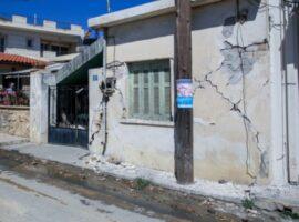 Σεισμός στην Κρήτη – Στήνονται σκηνές για 2.500 ανθρώπους που έμειναν άστεγοι