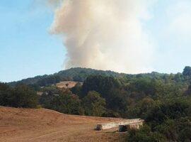 Ενισχύθηκαν οι πυροσβεστικές δυνάμεις στην πυρκαγιά στο Κιλκίς