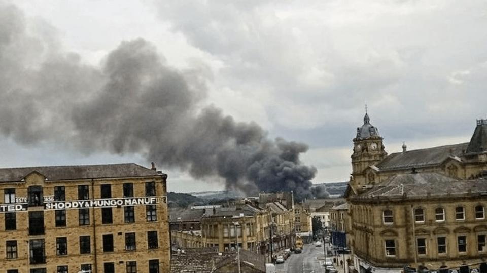 Βρετανία: Ισχυρή έκρηξη στην πόλη Ντιούσμπερι