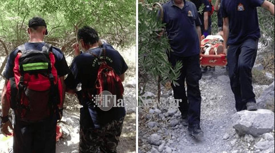 Χανιά: 30χρονος Αμερικανός υπέστη έμφραγμα στο Φαράγγι της Σαμαριάς - Επιχείρηση απο την Πυροσβεστική