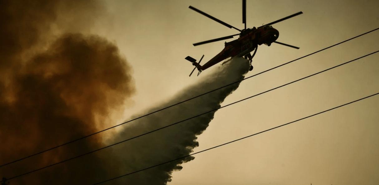 Πυρκαγιά ΤΩΡΑ σε δασική έκταση στον Κάλαμο Αττικής