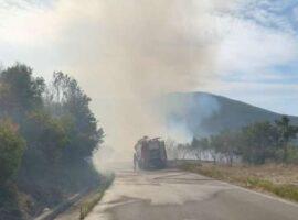 Τραυματίστηκε ο αντιδήμαρχος Πολιτικής Προστασίας του δήμου Μεγαλόπολης στην πυρκαγιά