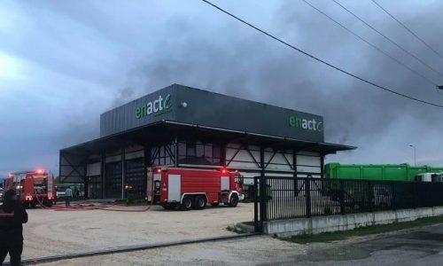 Πυρκαγιά σε επιχείρηση διαχείρισης Απορριμμάτων στα Ιωάννινα
