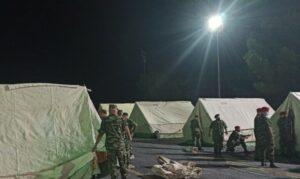 Ένοπλες Δυνάμεις: Συνδρομή στις σεισμόπληκτες περιοχές της Κρήτης (φωτο & βίντεο)
